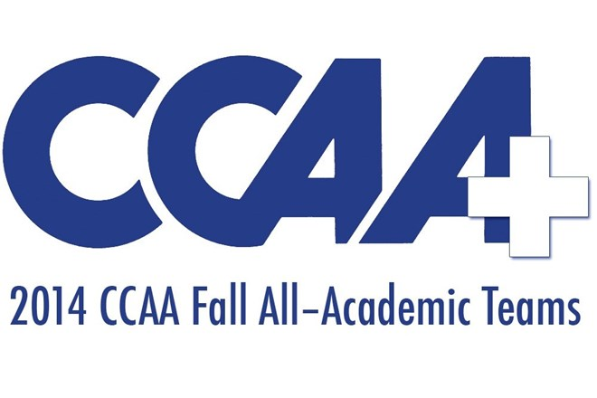 2014 CCAA Fall Academic Graphic