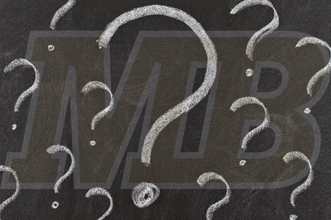 MB with Question Marks