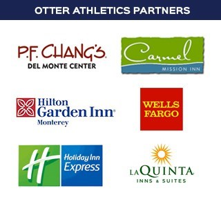 This is an ad graphic for Otter Athletics Corporate Partners.